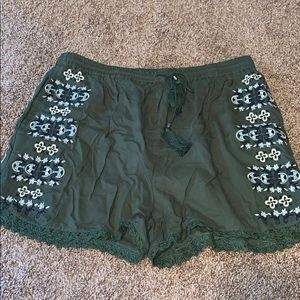 Never worn shorts from Francesca's